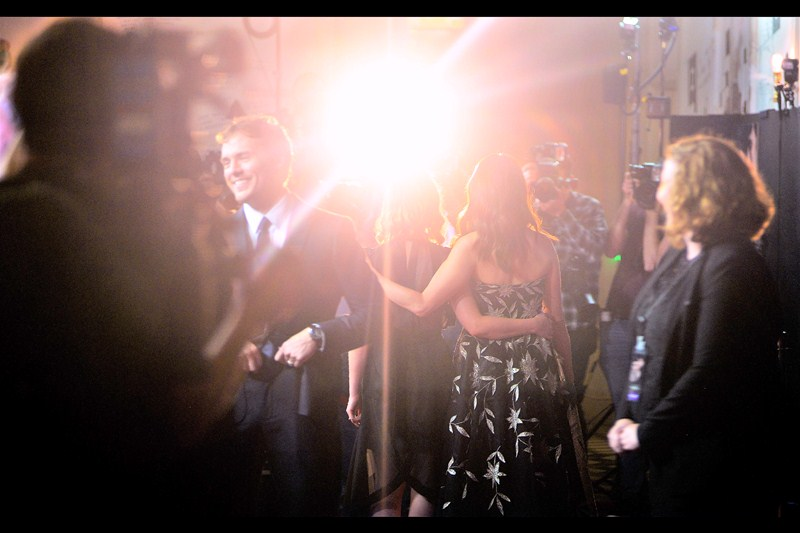 "I miss the days when I had a Nikon with a 50mm f1.4 attached... these days my lens flares just aren't what they once were. Personally, I think the one at the premiere for    ""Run For Your Wife   "" remains the best one I've ever captured"