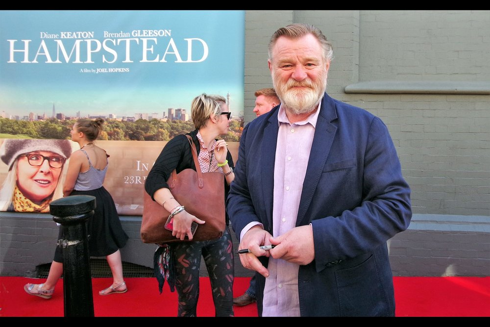 """Yes, I'm *the* Brendan Gleeson. What... there's another?"""