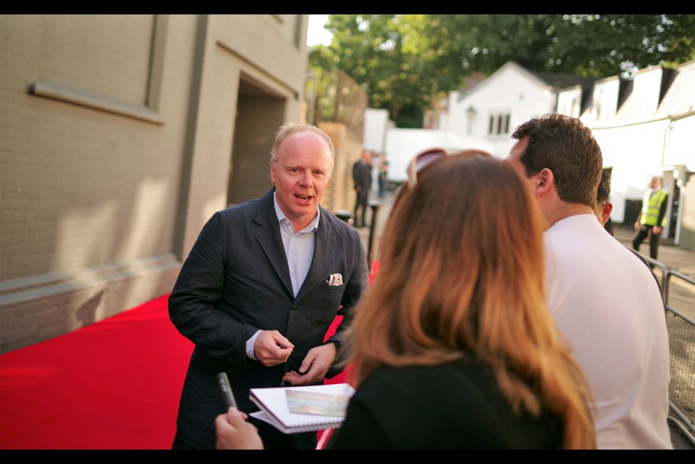 The majority of the crowd seemed to recall that Jason Watkins was in one (1) episode of Dr Who once, but my keen eye on imdb.com reveals one (1) prior movie I was actually at the premiere of :   Nativity 2 : Danger In The Manger  !!