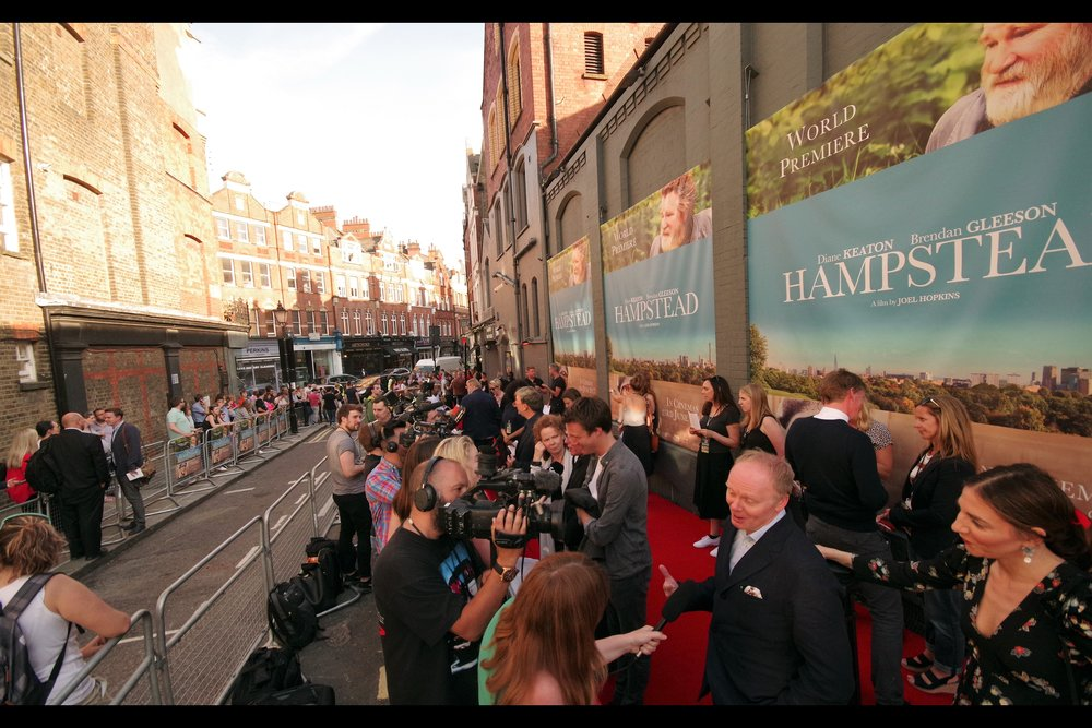 The Everyman Hampstead joins the list of London cinemas I've now photographed a premiere at (though at two premieres less than The Sony Centre in Berlin, it still has a way to go to move beyond even some foreign venues on my List)