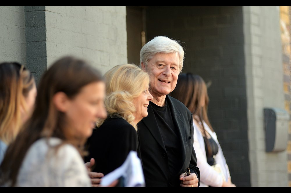 Not so much a random attendee, but rather a fortunately photographed attendee - Martin Jarvis unbeknownst to (or forgottenst by) me was in all of James Cameron's Titanic (1997) as 'Sir Duff Gordon';  in David FIncher's The Girl With The Dragon Tattoo (as 'Birger'), Alfred in the computer game Batman Arkham Asylum... and the voice of a Quarian Admiral in Mass Effect...3.