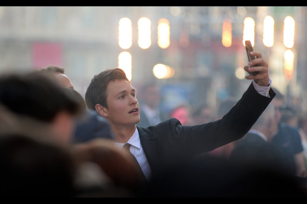 """It's not exactly ""Alas, Poor Yorick; I knew him Horatio"", but very well"" - Ansel Elgort won 'loudest cheer upon arrival at this event and is, indeed, the titular 'Baby Driver' of the movie."