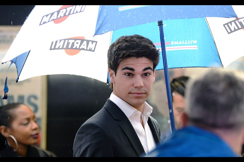 """You wanna race me for pink slips??""  - Lance Stroll (in spite of the crippling handicap of his surname) is actually a team driver for Williams F1 this year, alongside Felipe Massa."