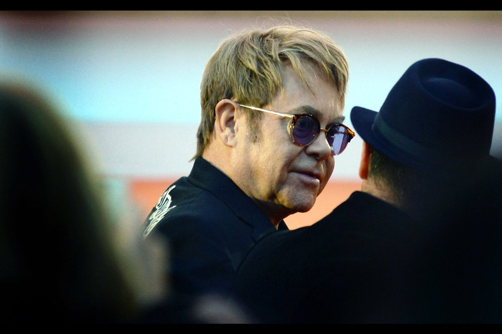 This, sadly, is also the left side of the face of Sir Elton John - I just happened to flip the image for variety / boredom / write-drunk-edit-sober reasons at a time well past my typical bedtime.
