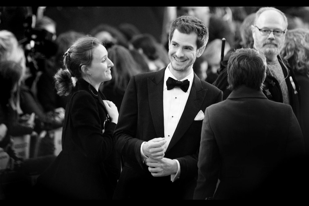 Andrew Garfield is perhaps best known for being the second cinematic incarnation of Spider-Man (I photographed him at premieres of both   the first   and   the second instalment  s) but he was actually very good in The Social Network and Hacksaw Ridge (neither of which had premieres)