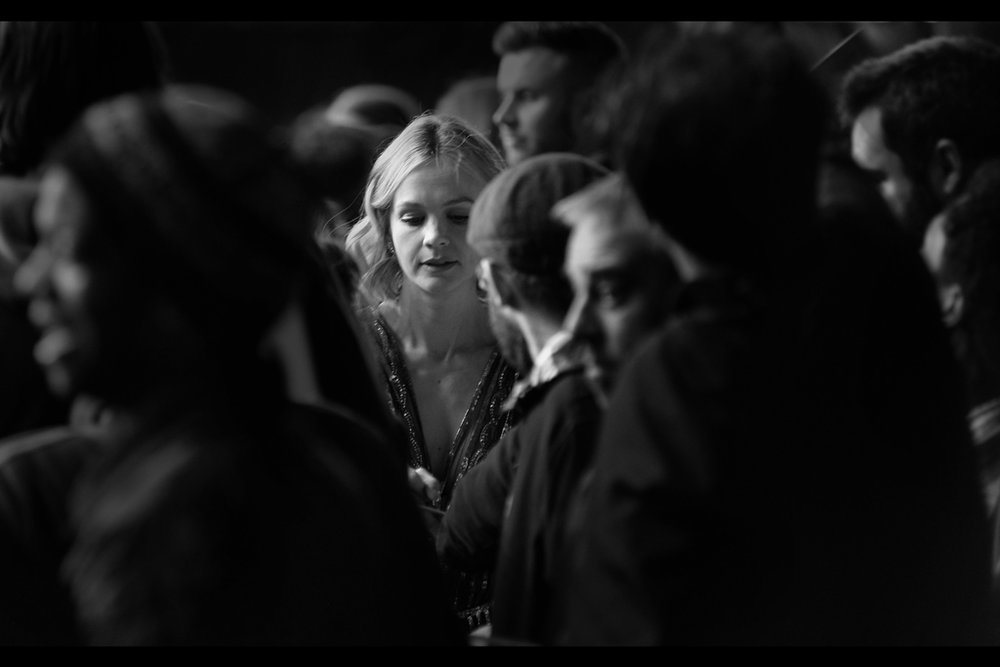 Carey Mulligan among a swarm of autograph dealers. (Don't send sympathetic facebook likes or retweets : do something more likely to result in change : write to your congressman or change your profile picture or something...)