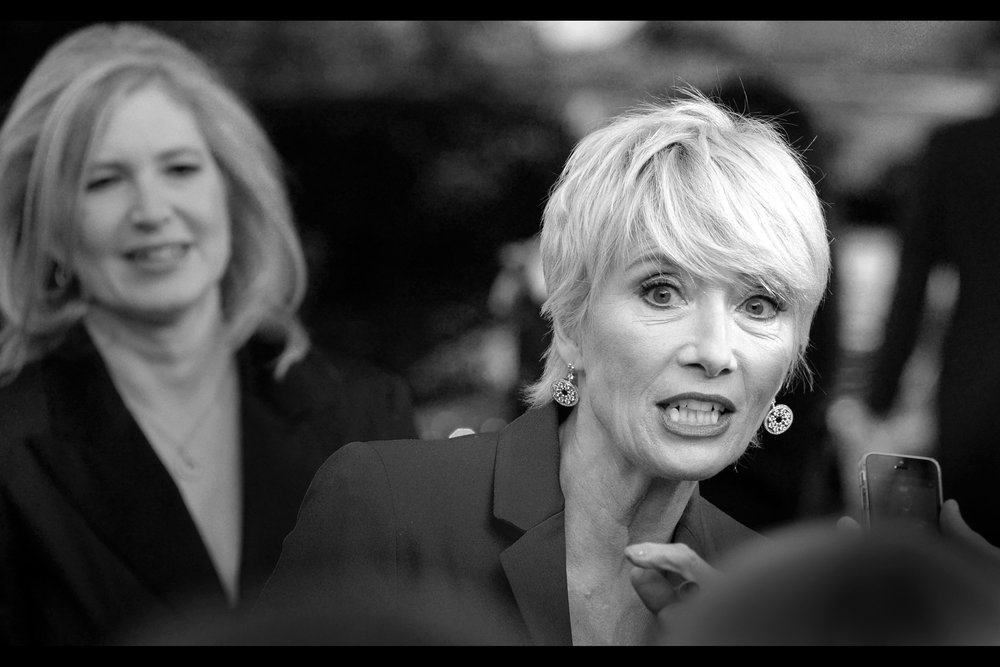 Emma Thompson is one of my favourite actresses to photograph because she has a near-unending number of facial expressions (my favourite events I've photographed her at were   'Men in Black 3'   and   'Walkin' on Sunshine'  )