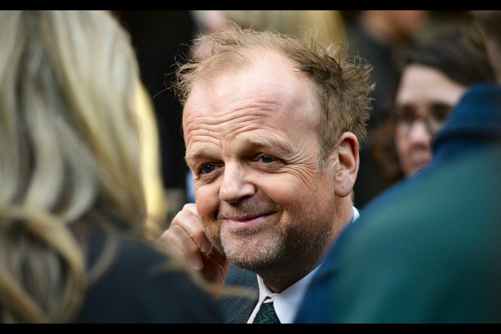 Toby Jones has his footprint in no less than three very large franchises - Harry Potter, The Hunger Games, and Captain America. Sadly two of those are finished and he died in the second movie of the third on the list.