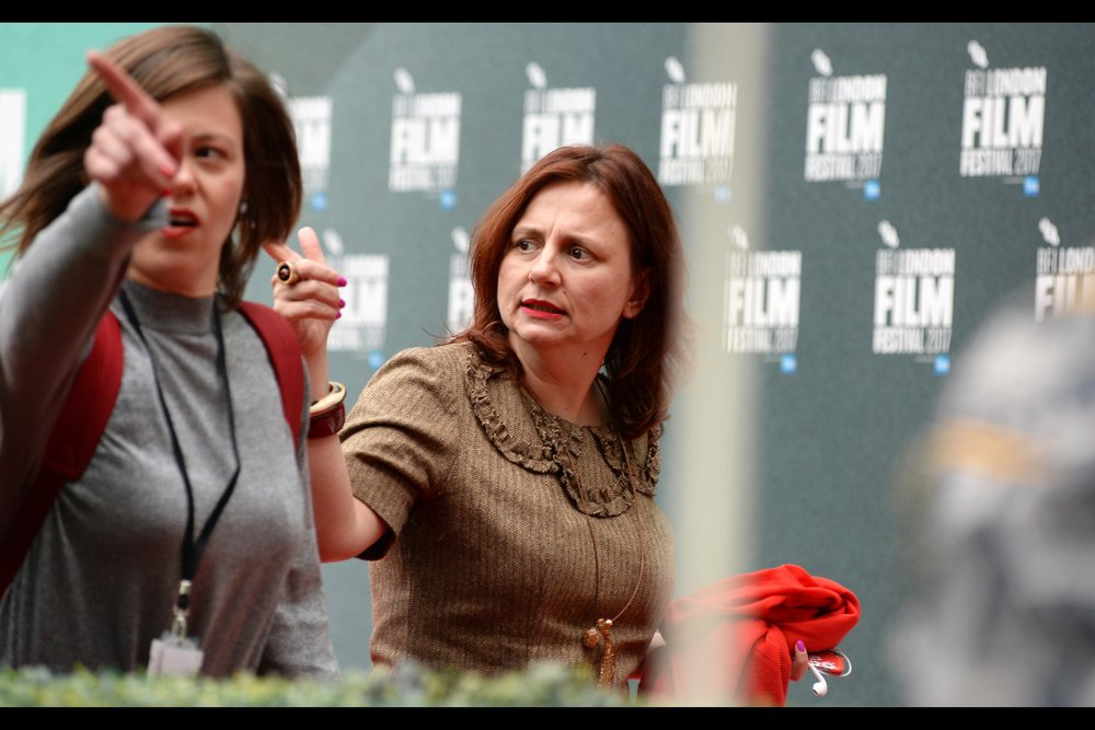 """No, not that tree. I'm talking that whole BUILDING over there that might have to go. Do I have that kind of power to make that happen?"" Australia's Own Clare Stewart is now in the sixth year of her role as Director of BFI London Film Festival."