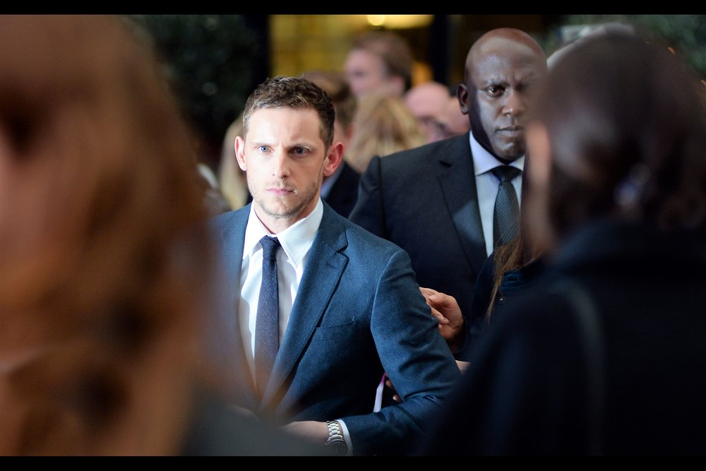 "One Glaring Eye From Jamie Bell. (possibly the best One Glaring Eye shot since the ""ill manors"" premiere back in 2012)"