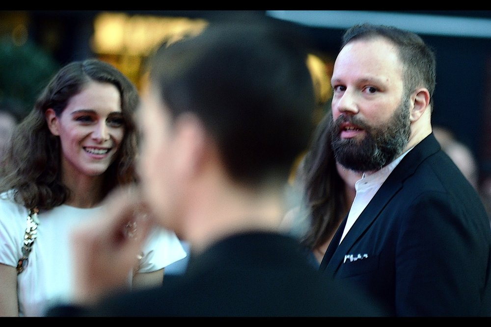Despite the blur (which I'm hoping just sneaks into the definition of 'blurry therefore art'), this is probably the best photo of YorgosLanthimos I've taken across two different BFI London Film Festivals.