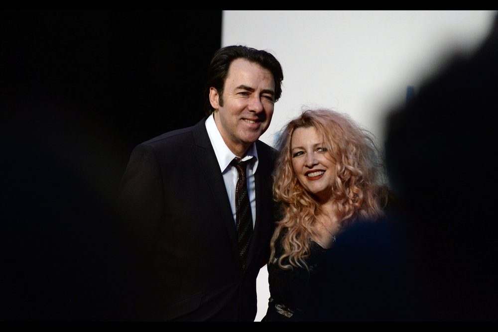 Power-couple (?) Jonathan Ross and Jane Goldman - I last photographed her at   the World Premiere of Kingsman : The Golden Circle   (she wrote the screenplay)