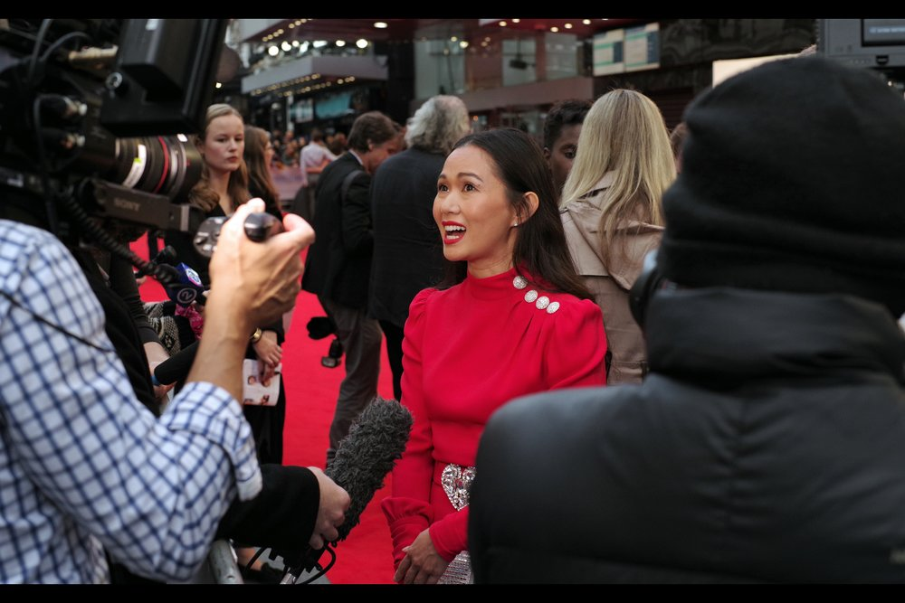 """My P.A.? Well... everyone feels better when they get a meaningful hug, even from a stranger. You should probably ask her first though"" Hong Chau has an imdb credits listing that intriguingly includes both an American Dad voice cast credit, and an episode of 'How I Met Your Mother'."