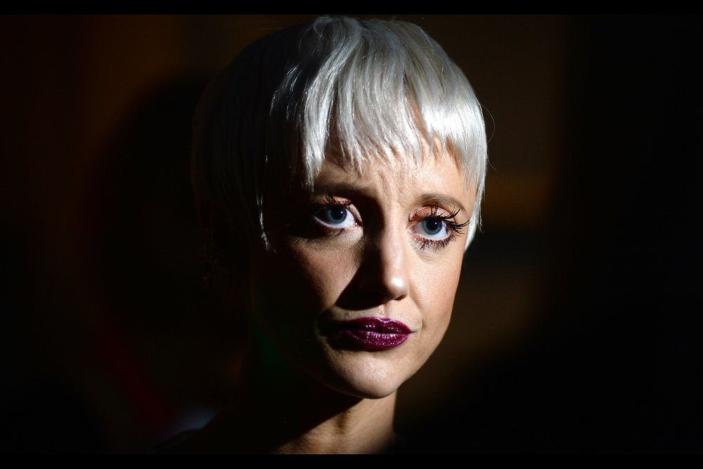 "I know this is actress Andrea Riseborough, as I photographed her just one week ago at   the BFI LFF premiere of ""Battle of the Sexes"" with Emma Stone  . It feels weird to me that a week ago I still had a week of photographing BFI London Film Festival to go... and now I only have tomorrow"