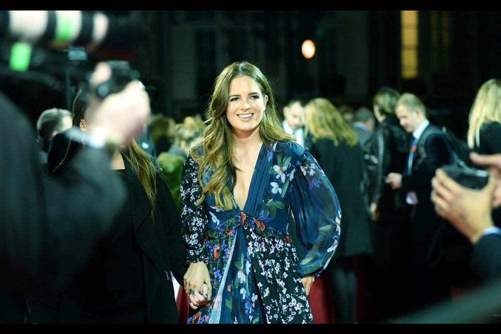 "Kimonos. So hot right now. (London in late October two hours after sundown. So cold right now)  (edited to add : ""Binky Felstead"")"