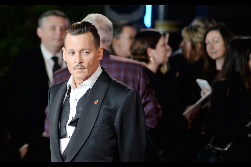 """Mortdecai? Really? But my moustache is so much better now...."""