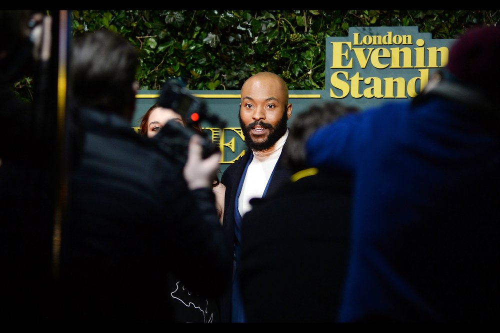 "I don't know of Arinze Kene's association with theatre (which is not an accusation, merely an admission of my lack of knowledge), but I do know that he was in and at   the premiere of the movie ""The Pass""   back in 2016."