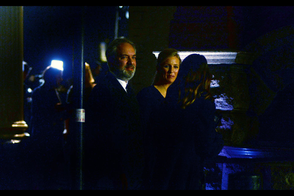 "Through the wonders of highlight-extraction on a full-frame Nikon I can now proclaim to have photographed Director Sam Mendes (who won on the night for ""The Ferryman"" but also directed the James Bond films   ""Skyfall""   and   ""Spectre""  )"
