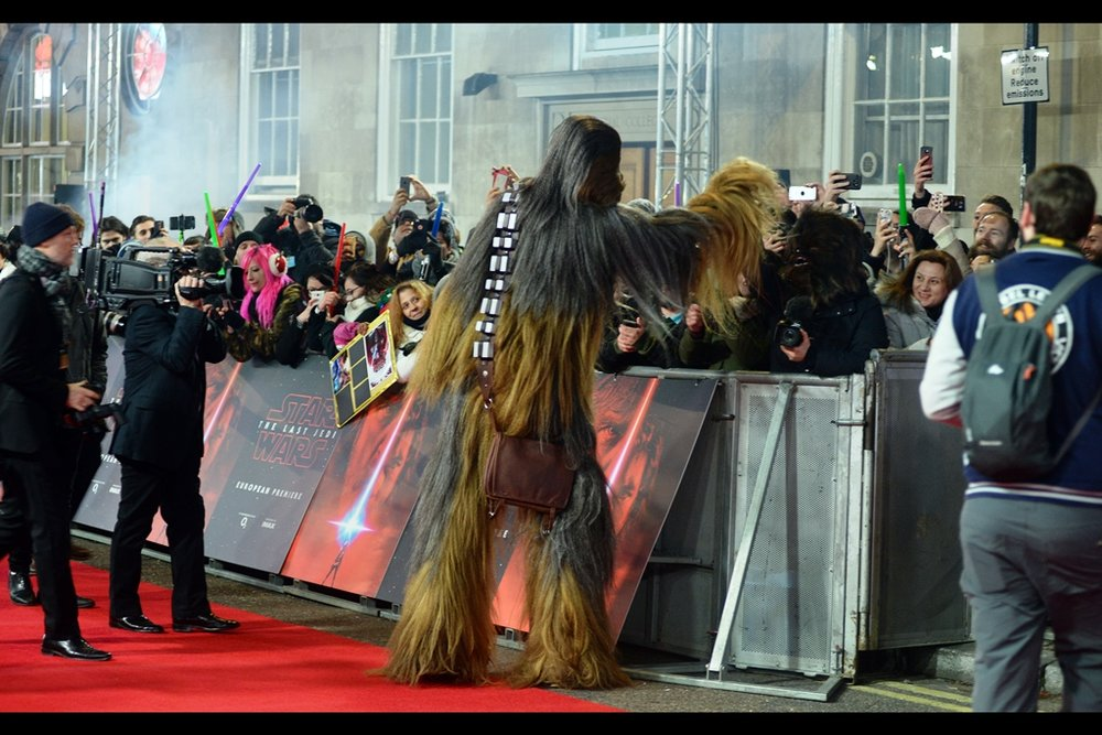 Wookiee high fives. I hear they're still one of the top ten causes of death on Kashyyyk.