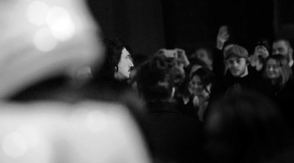 Adam Driver Star Wars Premiere