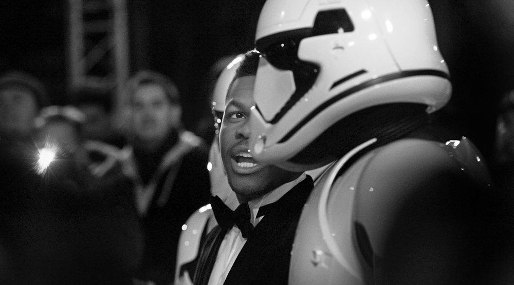 John Boyega Star Wars Premiere