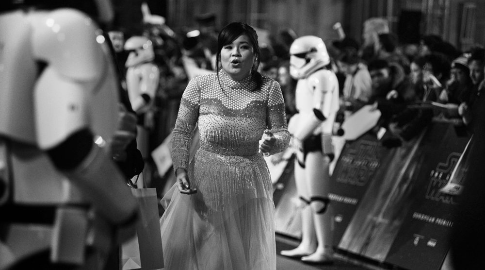 Kelly Marie Tran Star Wars Premiere