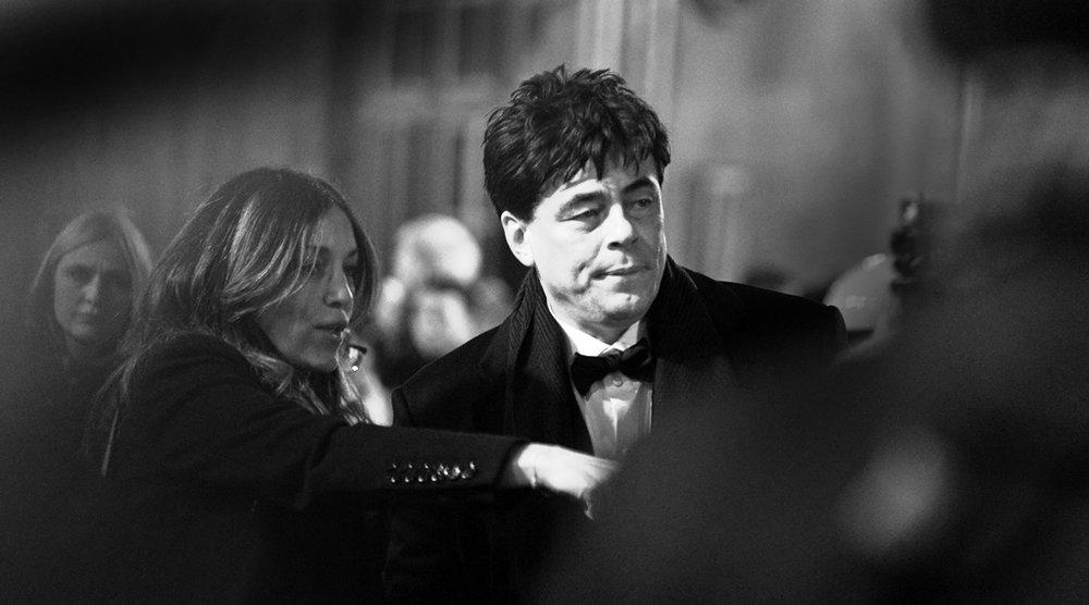 Benicio Del Toro Star Wars Premiere
