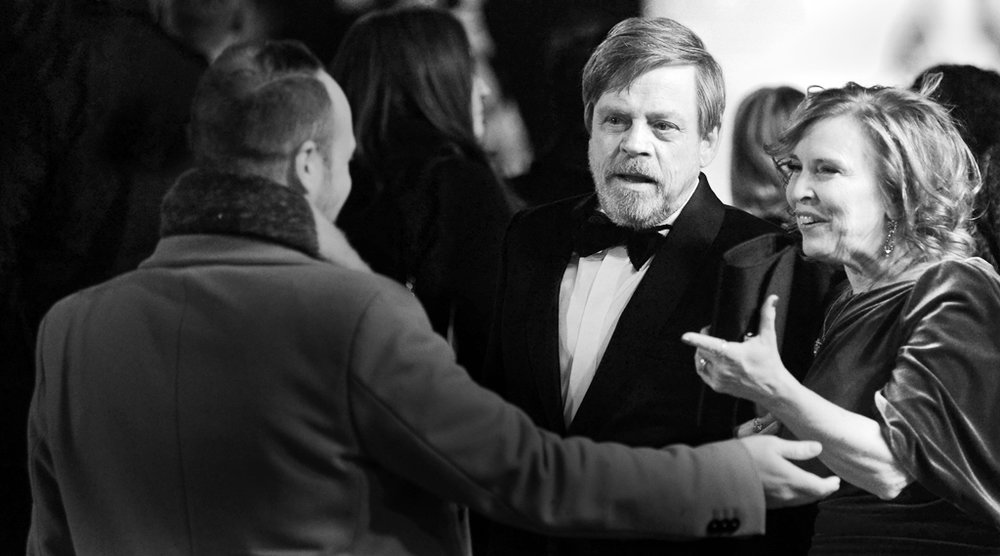 Mark Hamill Star Wars Premeire