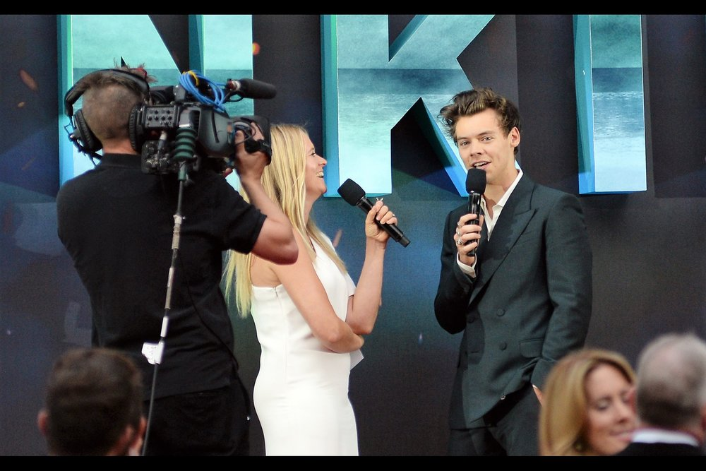 "July 13th : Harry Styles wouldn't mind if the screaming stopped for just a few seconds at the    ""DUNKIRK"" World Premiere   ."