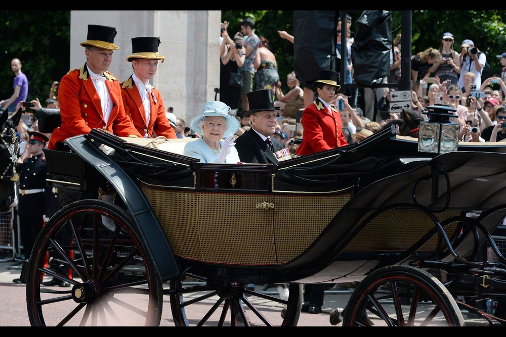 16th June : Maybe not technically a premiere, but it had pomp and ceremony (plus I hear two two princes had cameos in the latest Star Wars movie and the Queen was a Bond Girl during the Olympics opening ceremony) :    Trooping the Colour 2017   .