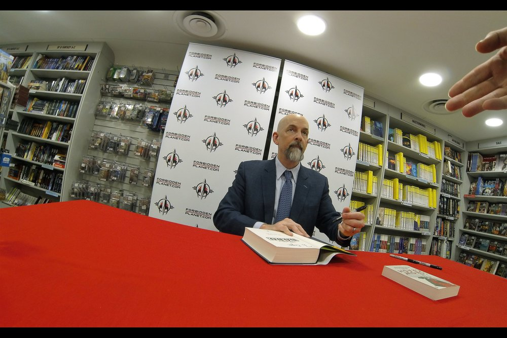 "June 26th  : with no premieres scheduled for two weeks, here, have a bonus Neal Stephenson book launch / book signing for    ""The Rise and Fall of D.O.D.O.""   ."