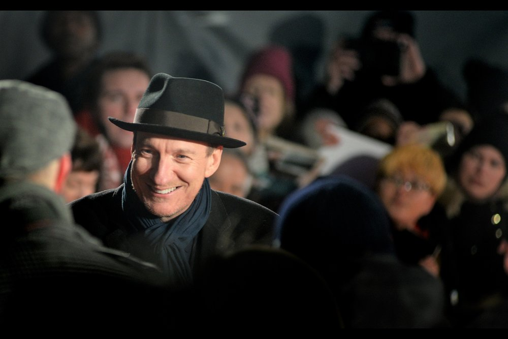 David Thewlis was most recently in 'Wonder Woman' (which sadly did not have a London premiere) - his hat in that movie was even better than the already great one he wore to this premiere.