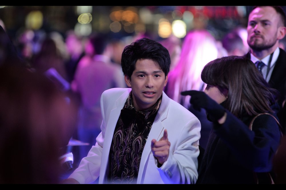 """That guy! I'm sure I've seen him at my local Book-Off hunting through the soundtracks section""  - that joke would, of course, be mildly funnier if Win Morisaki was Japanese.... he is in fact Burmese. Though he's been in several Japanese productions, so the comment stands."