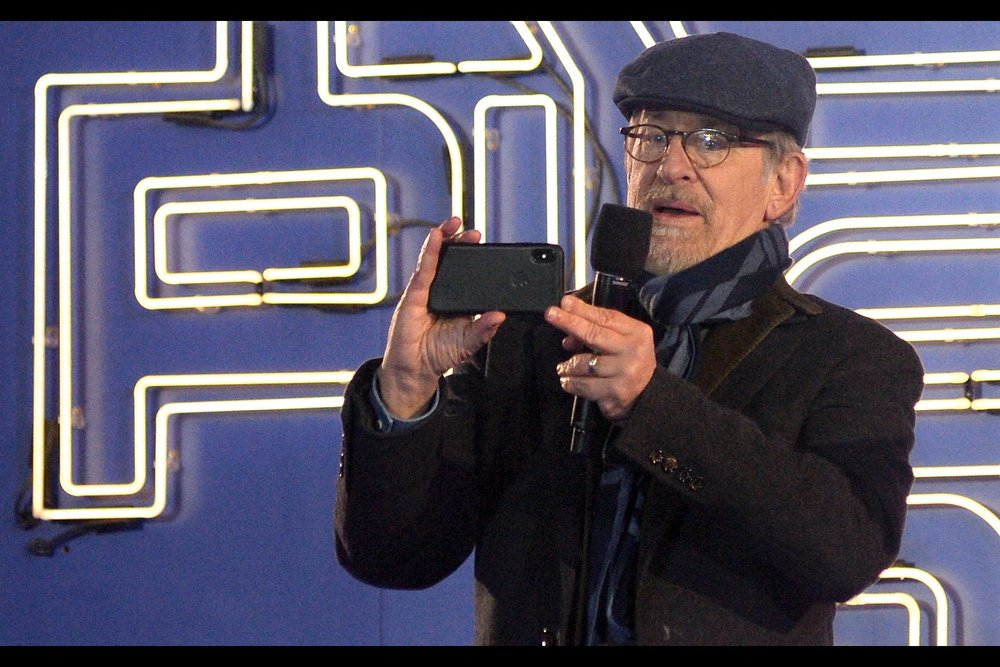 If Steven Spielberg were to ask to borrow my camera right now.... I'd be inclined to say yes. Maybe I'd also ask him to ask JJ Abrams whether those rumours of Disney having squads of hit-men are true, and how much it costs to hire them for a vermin infestation at this premiere I'd like taken care of. Hypothetically, I mean.