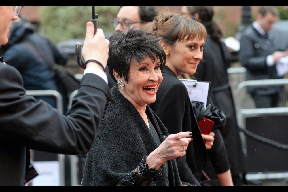"""That's a cool poster, but I was never in Star Wars""  Chita Rivera is famous for being in the original Broadway cast of 'Chicago', and was also in the 2002 movie. She's been nominated for 10 Tony Awards (the US Version of the Oliviers, I take it...), winning two."