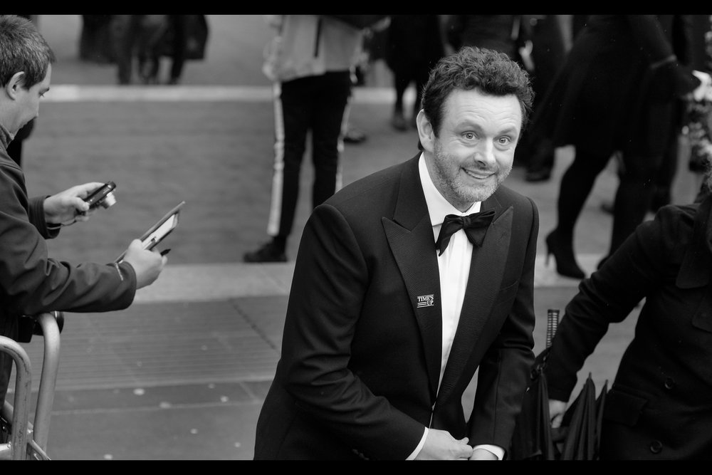 """You're welcome, of course""  - Michael Sheen is both a fantastic serious actor in movies like Frost/Nixon and The Damned United.... as well as a fantastic comedic actor pitch-perfect in such movies as several Twilight films and Tron Legacy."