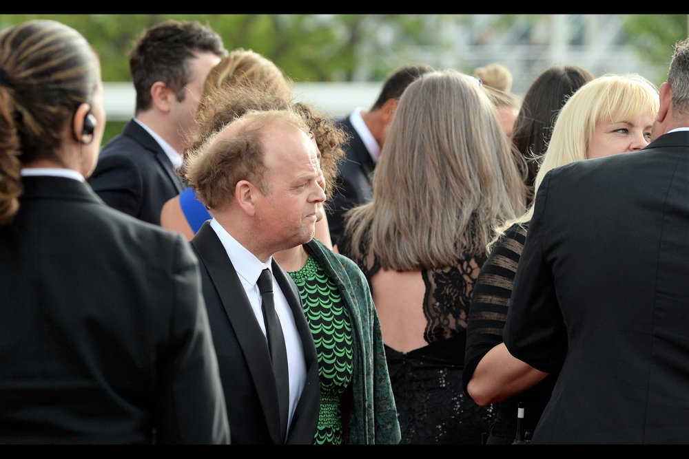 Sadly this is the only photo I got of Toby Jones, who ended up winning a Bafta at the event. ( Edited to add : Best 'Male Performance in a comedy programme' for 'Detectorists' )