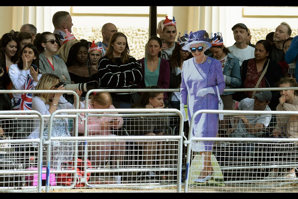 Looks like I can go home early - I've photographed Her Majesty already!