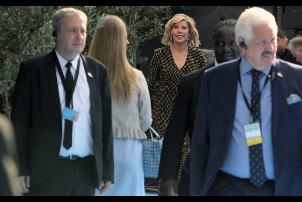 Christina Baranski is in this movie, and/but is possibly best known for playing Sheldon Cooper's mother in The Big Bang Theory (and over 150 episodes of 'The Good Wife').  (Edited to add : LEONARD'S mother, not Sheldon's - thanks Carlos!)