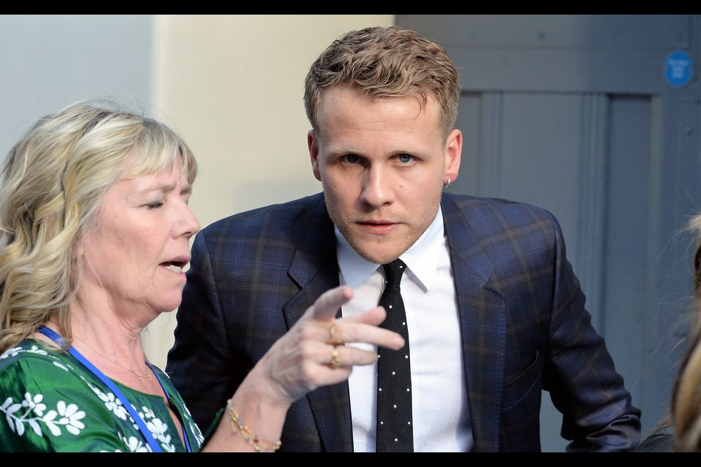 """""""Criminally - I say again - criminally disregarded and under-viewed website. It's so distressing I daren't make eye-contact with him"""" . Josh Dylan plays """"Young Bill"""" (ie. Stellan Skarsgard) in the film."""