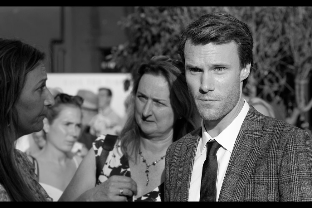 """Hugh Skinner plays """"Young Harry"""" (ie. Colin Firth) in the film. Amusingly, he plays Admiral Holdo's First Officer in Star Wars The Last Jedi, but imdb.com doesn't rate that a big enough deal to put it into his Top Four roles. Heh."""