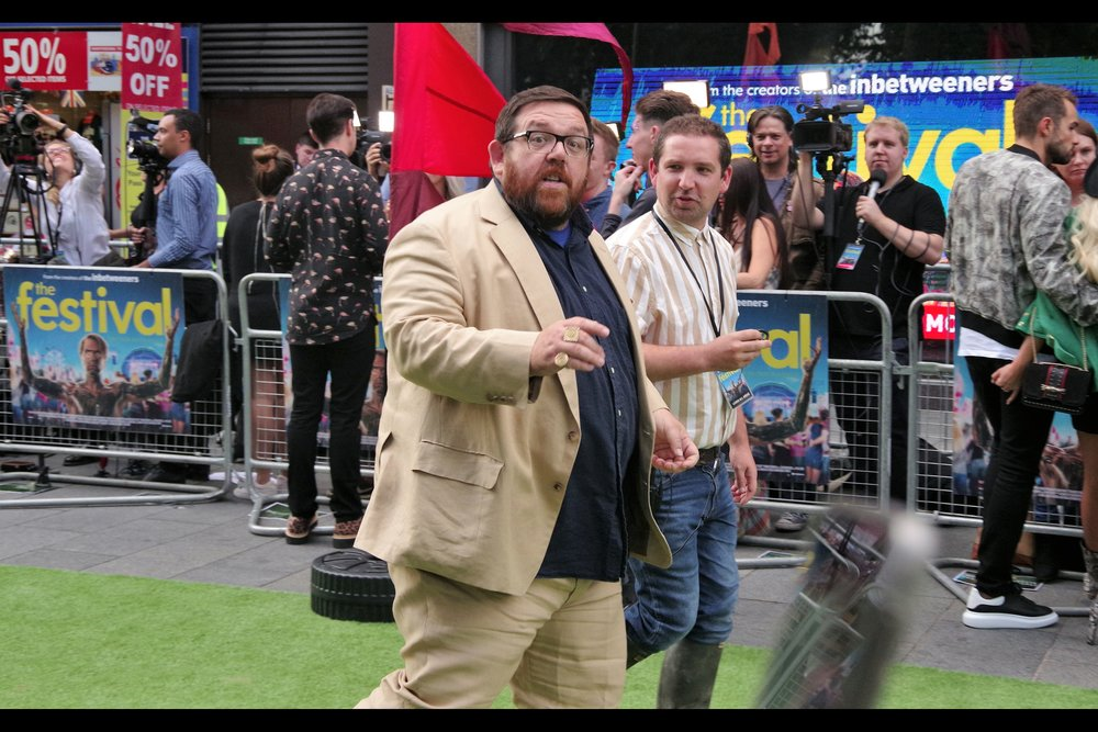 """If Joe didn't help you with your Sudoku, what makes you think I will?"" . Interesting snippets from Nick Frost's IMDB entry : he was ""Santa Claus"" in two episodes of Dr Who, a voice in an episode of Phineas & Ferb, and had an uncredited role as ""Pawnbroker Alan"" in the latest    ""Tomb Raider""   ."