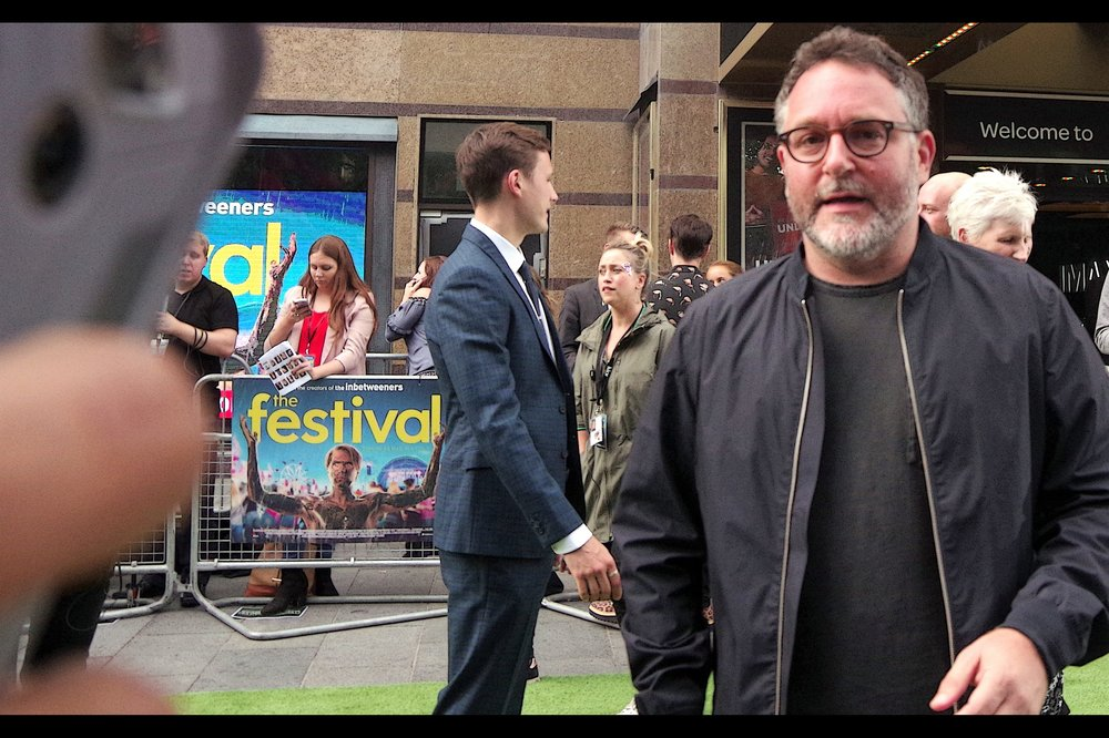 "Possibly even more entirely random attendee with even less to do with the film: Director Colin Trevorrow, who directed Jurassic World (I last photographed him at the premiere of    ""Ready Player One""   ), and sadly will not be the cool and steady hand that Star Wars Episode IX probably needs to re-rail that trainwreck of a franchise."
