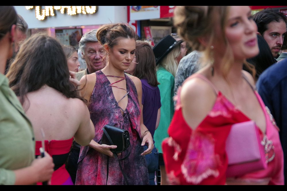 Kara Tointon, who was in some 337 episodes of Eastenders (and 20 episodes of Mr Selfridge) is not in this movie, but her sister Hannah IS. The guy on the far right of the picture, staring angrily into an uncertain future, provides a nice contrast to her look of serenity. I'm calling it deliberate.