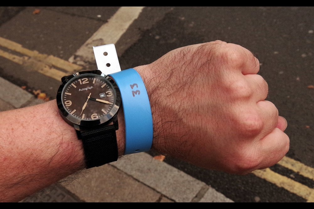 In unrelated good news - as a photographer I now have an ironic watch I can wear to premieres.