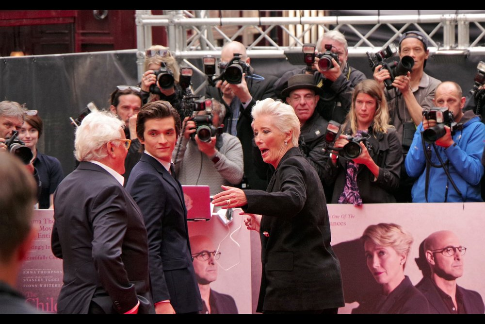 """""""Good lord you've aged since we filmed that movie, man!!"""" """"No, I'm the director. Fionn is still sanding right next to you..."""""""