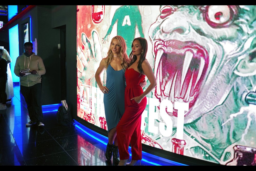 I think these are Phoebe Robinson-Galvin and Alana Wallace, who as stated were part of the prior premiere. But the next premiere hasn't started, and what am I going to do in the meantime... check if they've put out more free DVDs again? I already DID that!