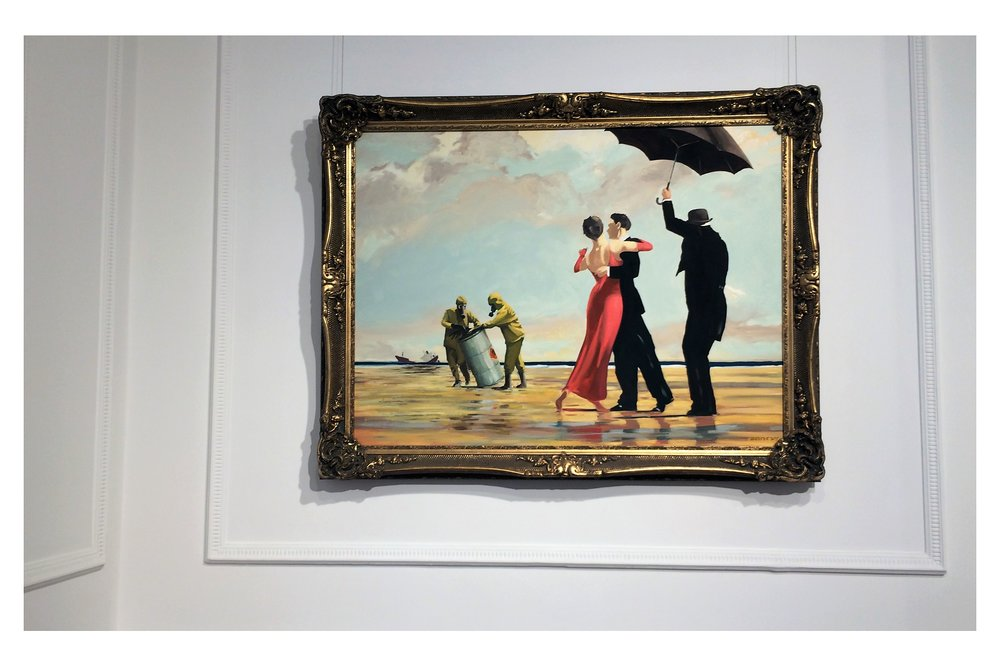 """Vettriano, Beach Rescue"" (2005)"