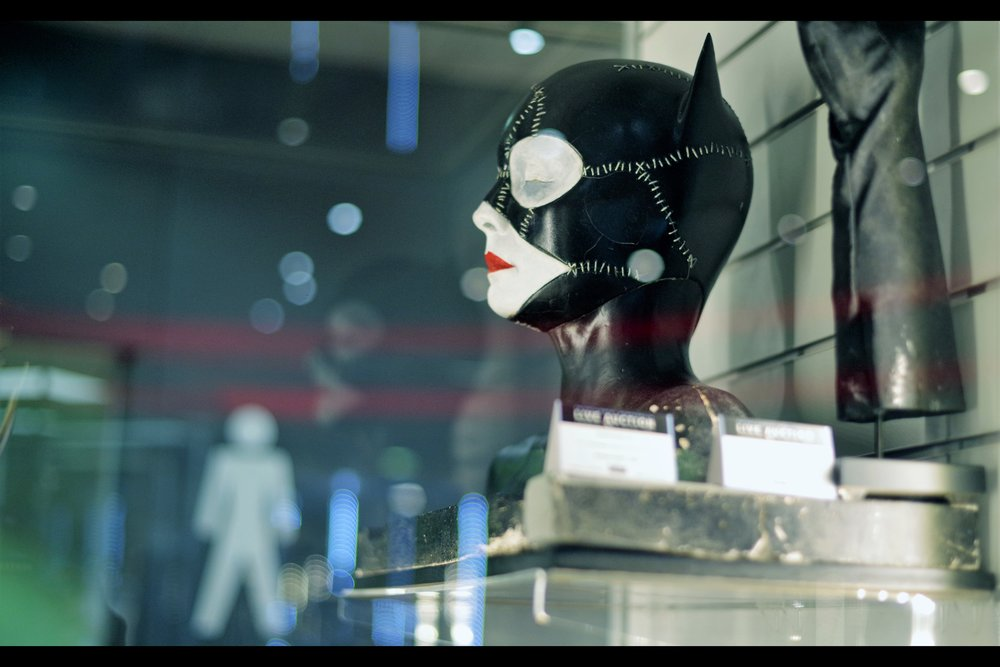 """At least with crazy people you know where you stand....""  Batman Returns Catwoman Makeup Test Bust - winning bid: £3,250"