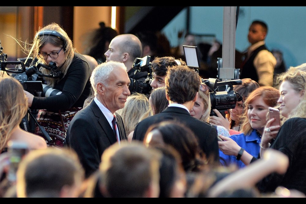 """Of course, one always wishes that it was you that hundreds upon hundreds of screaming girls were shouting at. And with a strong enough self-image and will, it's absolutely possible""  - the man with the gray hair : David Sheff."